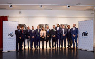 Presentación de AGACOM en el Club Financiero de A Coruña