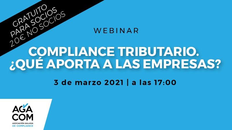 WEBINAR – Compliance Tributario