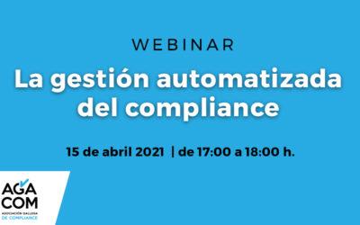 WEBINAR | Gestión automatizada del compliance