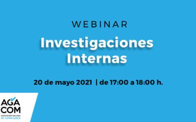 Investigaciones internas | WEBINAR